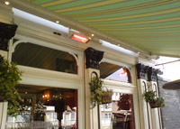 Awning Heating London A25 Awnings